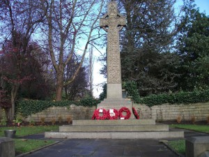 Luddenden Cenotaph - November 2012